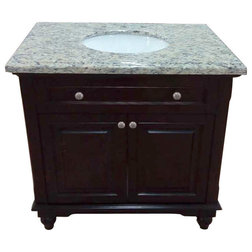 Traditional Bathroom Vanities And Sink Consoles by Art & Frame Direct Inc