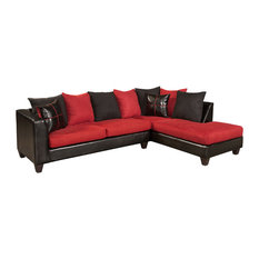 50 Most Popular Red Sectional Sofas For 2019 Houzz