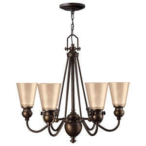 Mayflower Traditional Chandelier, 6 Lights