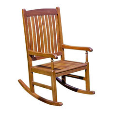 International Caravan   International Caravan K.D. Porch Rocker   Outdoor  Rocking Chairs
