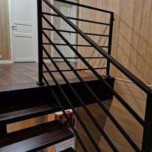 Лестница на стальном монокосоуре