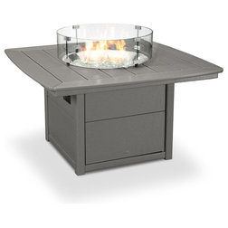 Transitional Fire Pits by Polywood