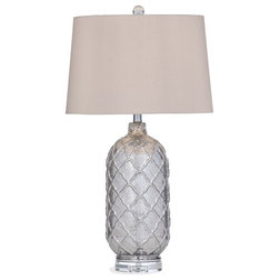 Mediterranean Table Lamps by BASSETT MIRROR CO.