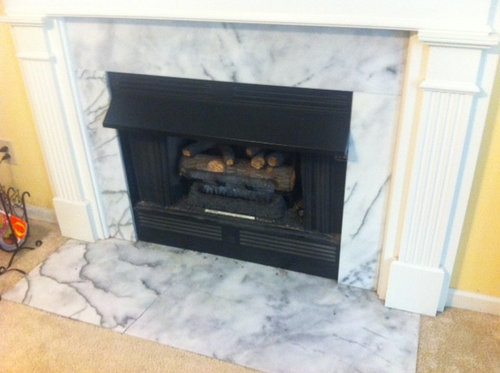 Excellent Replacing Marble Hearth And Marble Surround On Fireplace Download Free Architecture Designs Xerocsunscenecom