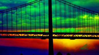 Bay Bridge Abstract