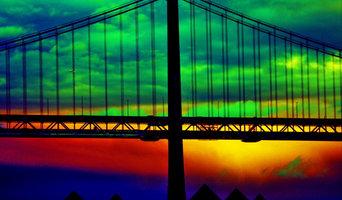 Bay Bridge Abstract