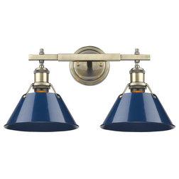 Contemporary Bathroom Vanity Lighting by Golden Lighting