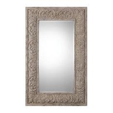 Uttermost - Vazzano Oversized Driftwood Mirror - Wall Mirrors