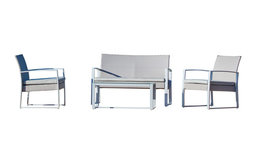 Borealis 4-Piece Deep Seating Group with Cushions