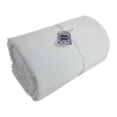 Amandine Linen Flat Sheet, Dream, 180x290 cm