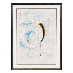 Salvador Dali, Le Cercle Visceral Du Cosmos, Etching