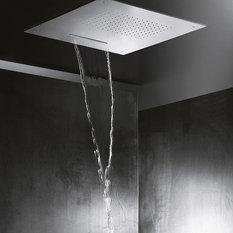 - Faucet Strommen, Doccinox 500 x 500 Flush Ceiling Rain & Blade Shower - Shower Heads and Body Sprays
