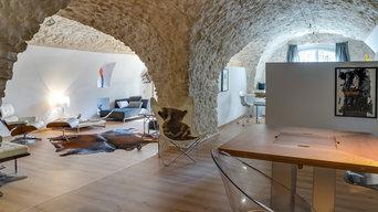 Rénovation écurie/bergerie dans l'arrière pays Antibois