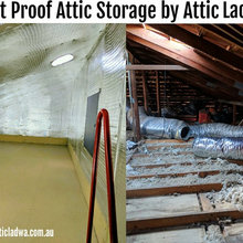 Attic Storage Conversion Perth