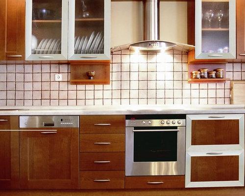 Aluminum Frame Glass Kitchen Cabinet Doors