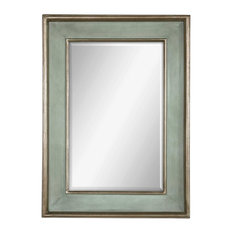 Uttermost Ogden Antique-Light Blue Mirror
