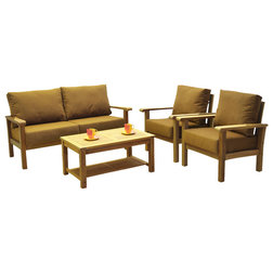 Marvelous Transitional Outdoor Lounge Sets by International Home Miami Corp