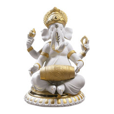 Mridangam Ganesha Re-Deco Figurine