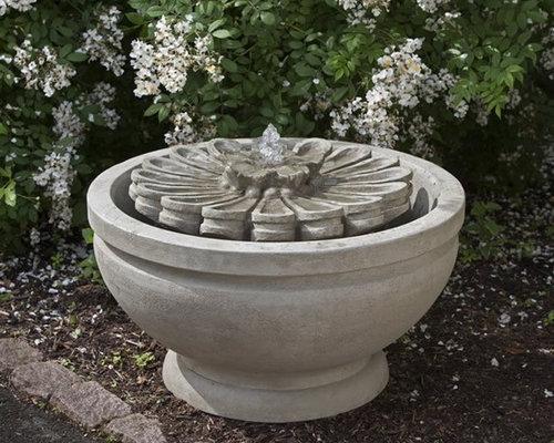 Fleur Garden Fountain   Outdoor Fountains And Ponds