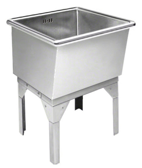 Just free standing laundry tub 27x27x16 14 gauge stainless steel just free standing laundry tub 27x27x16 14 gauge stainless steel workwithnaturefo
