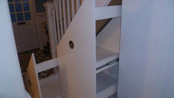 under stair cupboards