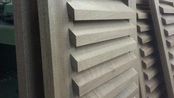 Holzklappladen