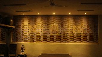 Yoga Room Wall Panel