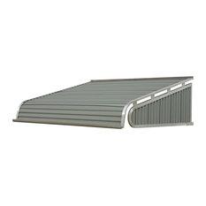 "1500 Series Aluminum Door Canopy 96""x60"" Projection, Graystone"