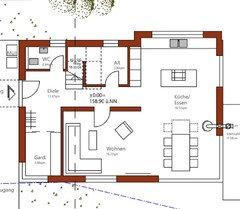 Hilfe neubau grundriss for Wohnzimmer quadratisch grundriss