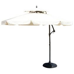 Traditional Outdoor Umbrellas by GDFStudio