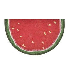 "Frontporch 1555/24 Watermelon Slice Red, 36.5""x24""x0.38"""