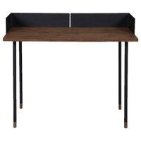 Camino Modern Small Buena Desk, Dark Oak