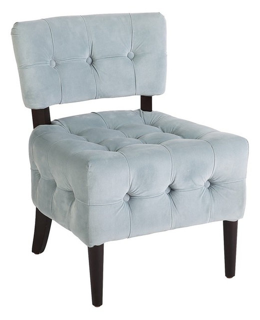 fionn chair blue velvet