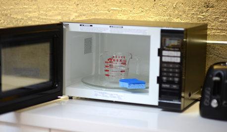 Rengør din mikroovn – sådan bliver den så god som ny igen