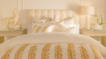Quill Duvet Cover and Sham Set (White)