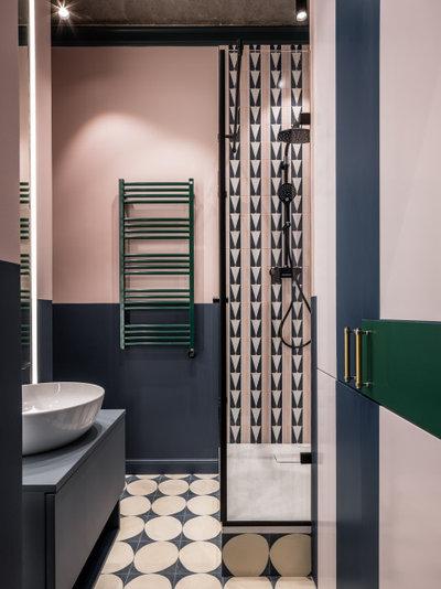 Современный Ванная комната by Зуева Анна