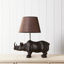 Eclectic Table Lamps by Graham and Green
