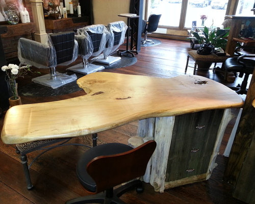 Wood Slab Counter Tops, Bar Tops, Kitchen Islands And Tables   Desks And  Hutches