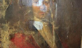 Restauration toile 18ème siècle
