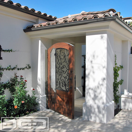 Orange County Mediterranean Garage Doors Amp Matching