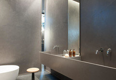 Pittura Lavabile Su Piastrelle : Rivestimenti in bagno piastrelle o pittura