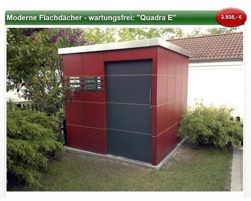 quadra e moderne gartenhuser outdoor structures - Moderne Gartenhuser