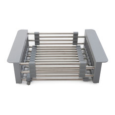 Italia Expandable Stainless Steel Kitchen Sink Basket