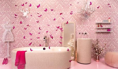 Cómo decorar el baño... inspirándose en las tendencias de la moda