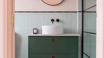 1930's Art Deco Inspired Bathroom