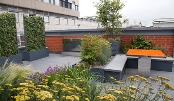 Poppyhead Contemporary Roof Terrace Birmingham