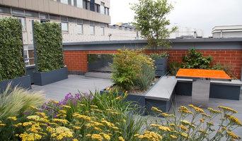 Poppyhead Contemporary Roof Terrace Birmingham