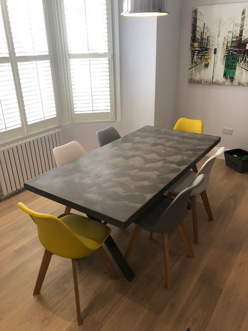 Another Bespoke Polished Concrete Table   Products