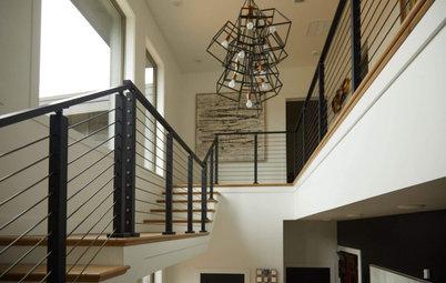 Trending Now: 5 Ways to Use Sleek Black Stair Railings