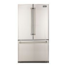 KUCHT Professional French Door Refrigerator K748FDS, Stainless Steel, 36""